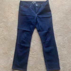 Levi's Dark Indigo 712 Slim Jeans